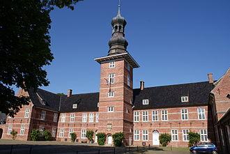 Husum - Schloss vor Husum
