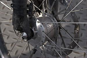 Schmidt Original Nabendynamo - Schmidt hub dynamo disk brake