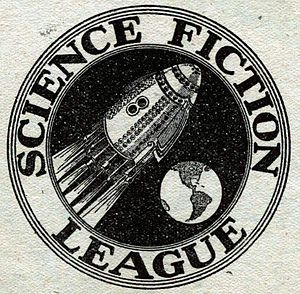 Science Fiction League - Science Fiction League logo, first published in the April 1934 Wonder Stories