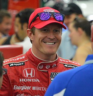Scott Dixon New Zealander racing driver