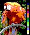 Screen color test AppleIIgs 4x2colors.png