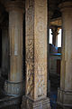 Sculptured pillars inside Jain temple, Chittorgarh Fort.jpg
