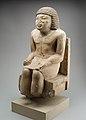 Seated Statue of the Nomarch Idu II of Dendera MET 98.4.9 EGDP019061.jpg