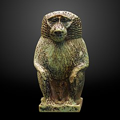 Seated baboon of Thot-MAHG A 2004-0040