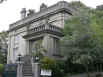 Samuel Hill - Hill's 1910 concrete mansion in Seattle, designed by Washington, D.C. architects Hornblower and Marshall