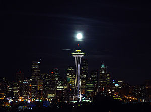Dr. Evil - The Space Needle in Seattle