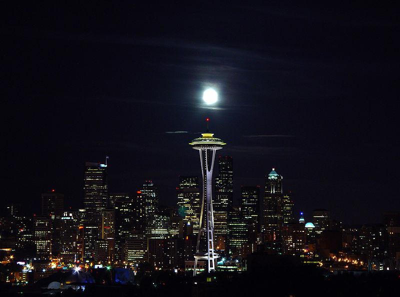 File:Seattle skyline night.jpg