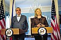 Secretary Clinton and Czech Foreign Minister Karel Schwarzberg Hold a Joint Press Conference (5791536899).jpg