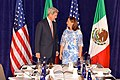 Secretary Kerry and Mexican Foreign Secretary Ruiz Massieu Chat Before Their Meeting in New York City (21248503423).jpg