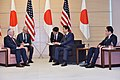 Secretary Tillerson Meets With Japanese Prime Minister Abe in Tokyo (33343113331).jpg