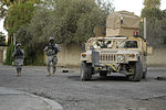 Security on dismounted patrol in Baghdad DVIDS61436.jpg