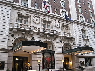 Seelbach Hotel - The Seelbach Hilton Hotel on 4th Street and Muhammad Ali Boulevard.