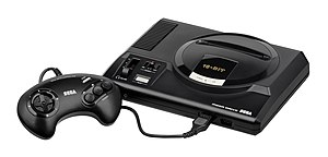 Sega Genesis - The European PAL version of the Mega Drive launched in 1990, later becoming the highest-selling fourth gen console in Europe