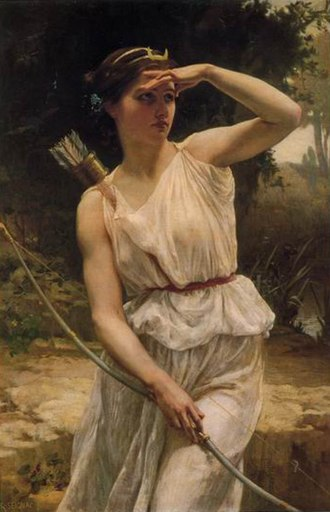 Diana (mythology) - Diana Hunting, Guillaume Seignac