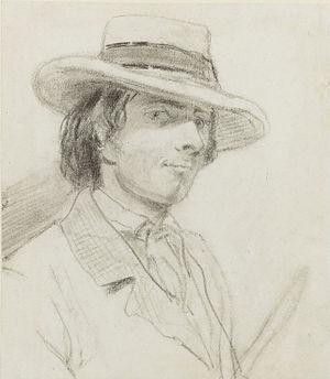 Theodore Blake Wirgman - Self-portrait (Theodore Blake Wirgman)