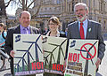 Senator Trevor Ó Clochartaigh, Senator Kathryn Reilly and Gerry Adams TD.jpg