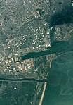 Sendai port aerial photograph taken on the day after 2011 Tohoku earthquake.jpg
