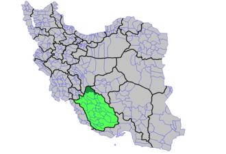 Abadeh County - Image: Shahrestan e Abade