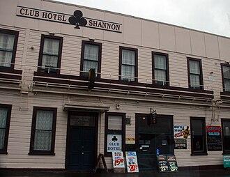 Shannon, New Zealand - Club Hotel