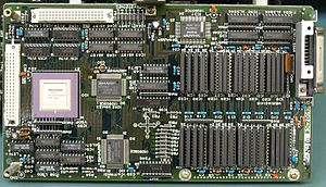 X68000 - Sharp X68000 Computer Video Board. Original 1987 CZ-600C model
