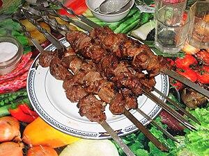 Soviet cuisine - Shashlik