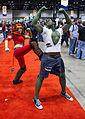 She-Hulk kicks Hulk around at C2E2 2013 (8691325660).jpg
