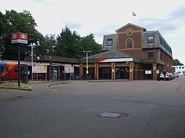 Shepperton station building.JPG