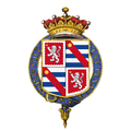 Shield of arms of Henry Grey, 3rd Earl Grey, KG, GCMG, PC.png