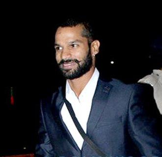 Shikhar Dhawan - Dhawan in January 2016