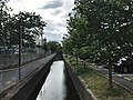 Shinhorikawa River from Rijimbashi Bridge (west).jpg