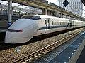 Shinkansen Series 300 at Okayama.JPG