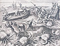 Shipwrecked Portuguese sailors battling giant crabs in the Indian Ocean.jpg