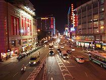Shiqiao Subdistrict night.JPG