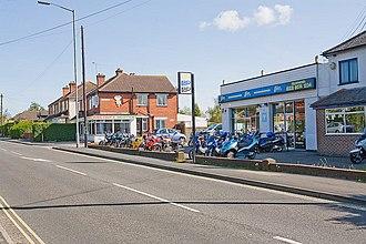 North Baddesley - Image: Shops around Six Oaks Road, North Baddesley geograph.org.uk 789742