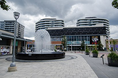How to get to Shops At Don Mills with public transit - About the place