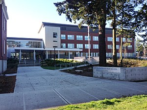 Shorewood High School (Washington) - The newly added 2013 entry located on N 175th St