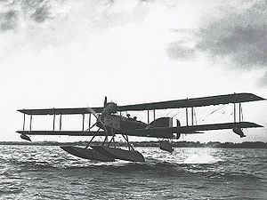 No. 233 Squadron RAF - Short Type 184 seaplane. This type of aircraft was used by the squadron from August 1918 – May 1919.