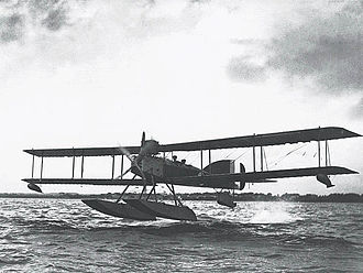 Aerial torpedo - The Short Type 184 was the first torpedo aircraft when built in 1915.