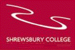 Shrewsbury College - The previous logo of the college. The loop symbol was used from 2004 until 2017.