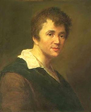 Stepan Shchukin - Self-portrait (1785)