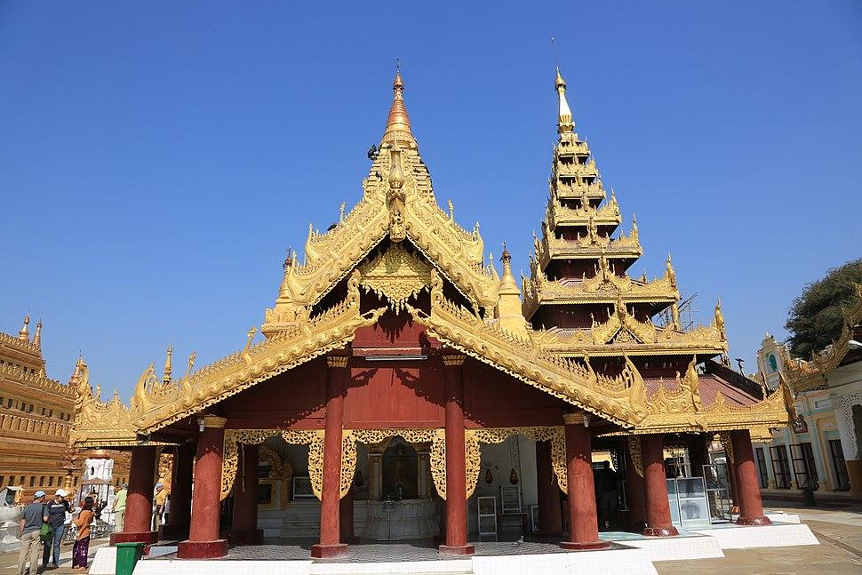 Shwezigon Temple - Bagan, Myanmar 20130209-06