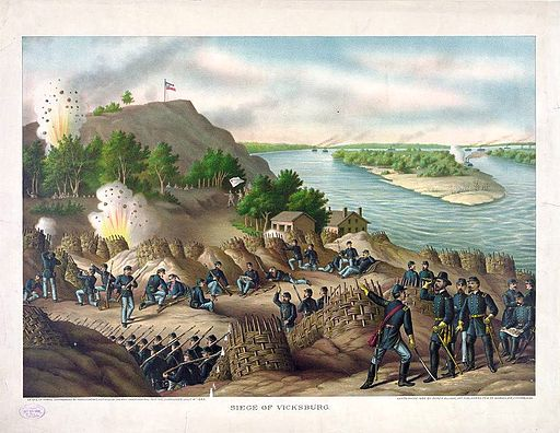 Siege of Vicksburg by Kurz & Allison