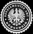 Siegelmarke Bürgermeister Amt - Höhscheid W0239940.jpg
