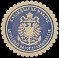 Siegelmarke K. Marine Artillerie Depot zu Geestemünde W0337705.jpg