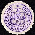 Siegelmarke Sigillum Civitatis Barnstorf W0229317.jpg