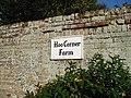 Sign for Hoo Corner Farm - geograph.org.uk - 962209.jpg