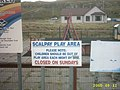 Sign found on the island of Scalpay. - geograph.org.uk - 59110.jpg