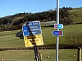 Signs near Caersws - geograph.org.uk - 200529.jpg
