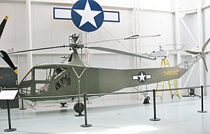 United States Army Aviation Museum - Sikorsky R-4B