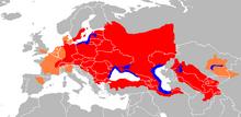Wels-anariko estas indiĝena al centra kaj orienta Eŭropo, kaj enkondukita en okcidenta Eŭropo